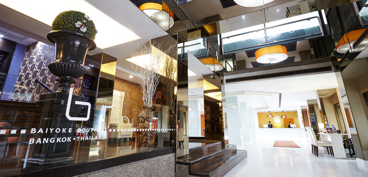 Baiyoke hotel group official website pratunam hotels for Boutique hotel group
